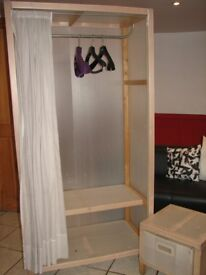 WARDROBE AND BEDSIDE TABLE SET -QUICK SALE MUST GO