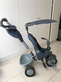 Smart Trike Recliner 4 in 1 (Denim)