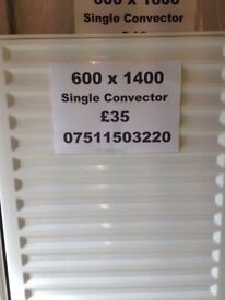 CENTRAL HEATING RADIATOR CENTERRAD Single Convector 600 mm high x 1400 mm long.