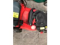 Sovereign petrol self propelled lawn mower