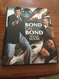 James Bond hardback book