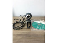 Logitech webcam, immaculate as seen in pictures,quick sale at only £15