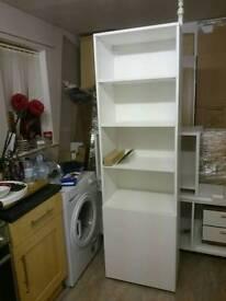 John Lewis Match Shelf Unit, white