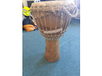 Large Wooden Djembe