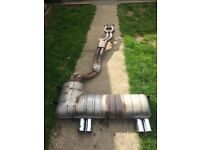 BMW E46 M3 Coupe/Convertible Exhaust Rear Box And Center Section for sale  Norwich, Norfolk