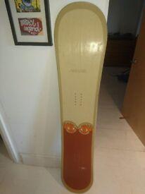 Unused snowboard - Airwalk Scout 155