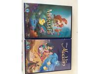 2 x Disney dvds new