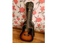Epiphone AJ-220SCE/VS Electro Acoustic Guitar with Guitar Bag