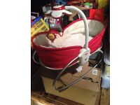 Tiny Love napper 3 in 1 rocker , Moses basket, baby bouncer