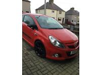 Vauxhall corsa vxr racing edition