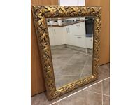 Beautiful Decorative Mirror, gilt frame, Made in Italy-BARGAIN