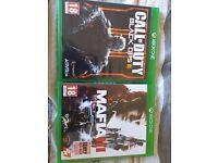 Call of duty black ops 3, Mafia 3. Xbox One