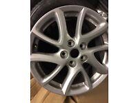 "1 x 17"" Mazda alloy wheel for sale cheap price good condition"