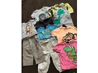 (£1.50 per item) Boys clothing bundle age 9-12 months