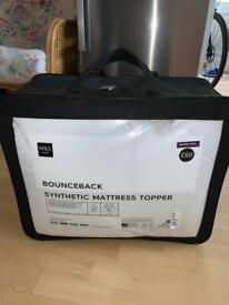BN Sealed Marks and Spencer Bounceback Mattress Topper Enhancer Super King Size £69
