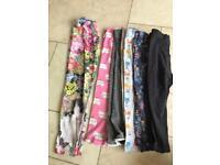 Girls leggings & Tshirts 15 items in bundle Age 1-5yrs although most age 2