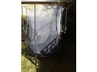 4ft trampoline with safety net