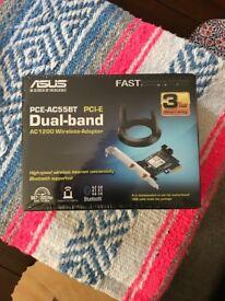2 x PCE-AC55BT Dual-Band AC1200 Wireless Adapter