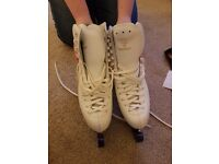 Risport ladies skates - 2 pair hardly used. £40 a pair inc bag and guards.