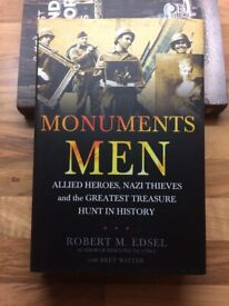 MONUMENTS MEN - COLLECTOR QUALITY WWII HISTORICAL BOOK - BY ROBERT M. EDSEL