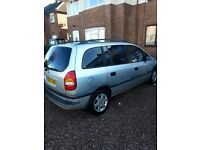 Vauxhall zafira 1.8 16v