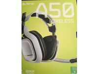 ASTRO A50 GEN 2 WIRELESS 7:1 HEADSET - WHITE/LIME EDITION