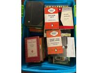 Large box of vintage and modern books