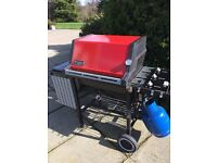 Weber gas barbeque