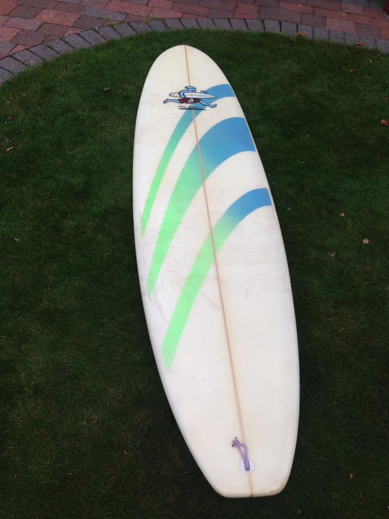 Pro liberty surfboard