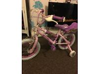 Child's princess bike