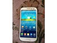 samsung s3 mint conditionwhite unlocked to all networks