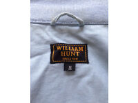 Mens William Hunt Savile Row lined linen jacket M