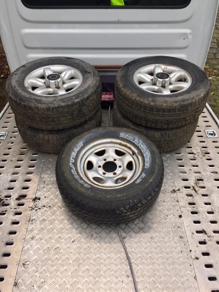4x4 Alloys wheels