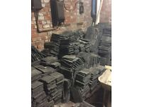 Reclaimed roofing tiles