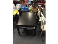 Brown Wooden dining Table & 4 Chairs