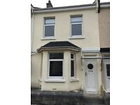 Beautifull end terrace two double bedroom house central in PL2 area modern kitchen bathroom