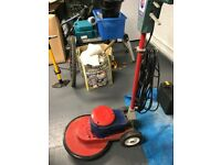 A Victor 240v Floor Polisher/scrubber
