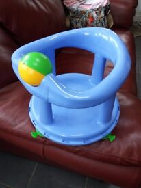 Safety first baby bath seat.