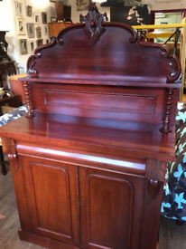 Victorian Chiffonier , Must be seen ..... In good condition . Free Local Delivery.
