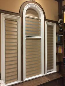 ZEBRA SHADES, ROLLER SHADES, HORIZONTAL BLINDS, VERTICAL BLINDS, WOOD BLINDS! BEST WINDOW COVERING!
