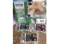 EPSON PRINTER CARTRIDGES X 3 T1282,T1283 & T1284