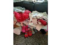Newborn/0/3 months bundle of clothes