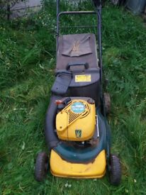 Yard man petrol mower