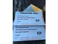 BSB Tickets for Thruxton weekend