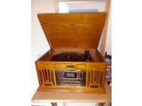 Record, CD,Tape and Radio player