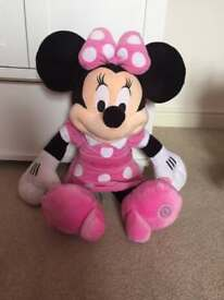 Large Disney Minnie Mouse Soft Toy