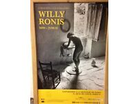 Original Willy Ronis Exhibition Poster. Large