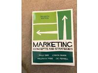 Marketing - concept and strategy, Dibb, Simkin, Pride and Ferrell