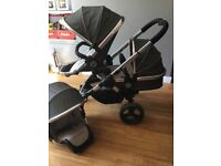 Icandy peach Truffle double pushchair