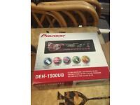 PIONEER DEH 1500 UB radio cd USB aux